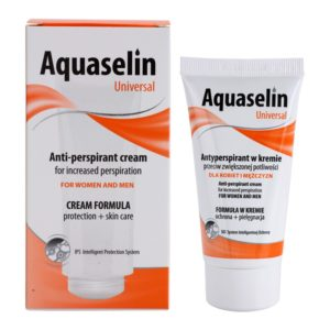 Aquaselin Universal Anti-perspirant cream for Women and Men 40 ml Drogeria Premium