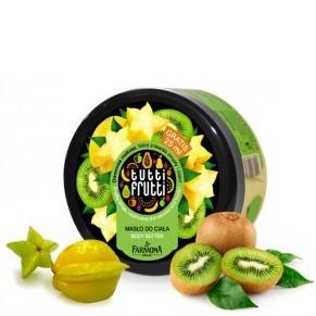 Masło do ciała Tutti Frutti Kiwi i Karambola - DrogeriaPremium.pl