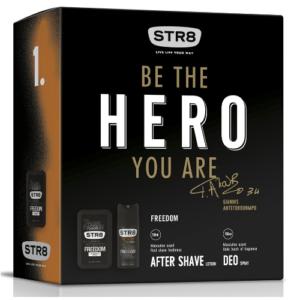 Zestaw STR8 FREEDOM woda po goleniu i dezodorant DrogeriaPremium.pl