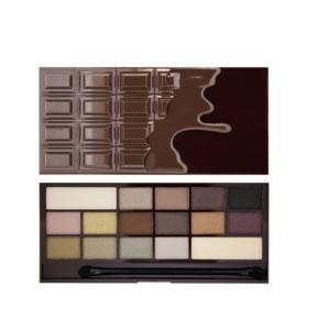 Makeup Revolution I Heart Chocolate - Death by Chocolate - paleta cieni DrogeriaPremium.pl