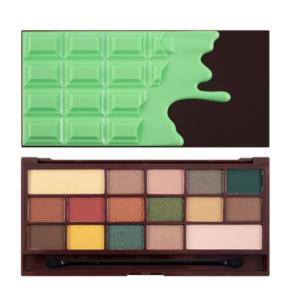 Makeup Revolution I Heart Chocolate - Mint Chocolate - paleta cieni DrogeriaPremium.pl