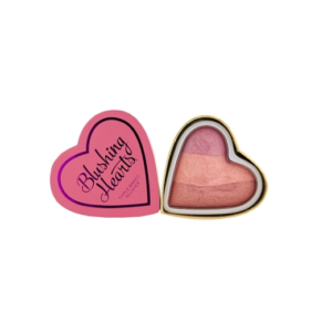 Makeup Revolution I Heart Makeup Blushing Hearts Candy Queen of Hearts - róż DrogeriaPremium.pl