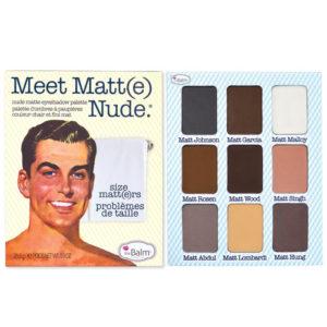 THE BALM, Meet Matte Nude - paleta cieni DrogeriaPremium.pl
