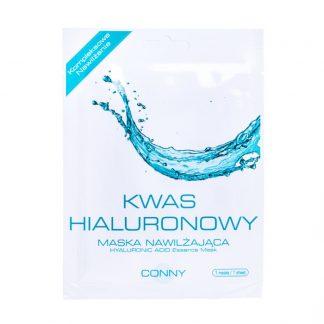 CONNY Nawilżająca maska do twarzy z kwasem hialuronowym DrogeriaPremium.pl