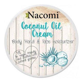 Nacomi Krem z olejem kokosowym DrogeriaPremium.pl