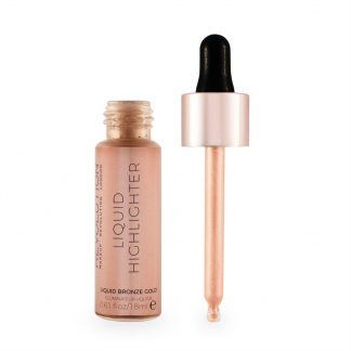 Makeup Revolution Liquid Highlighter - Rozświetlacz w płynie Bronze Gold DrogeriaPremium.pl