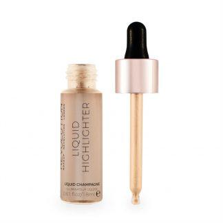 Makeup Revolution Liquid Highlighter - Rozświetlacz w płynie Champagne DrogeriaPremium.pl