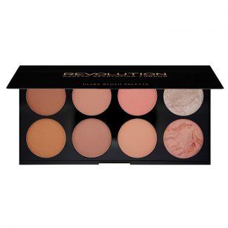 Makeup Revolution Ultra Blush Palette - paleta róży do policzków Hot Spice DrogeriaPremium.pl