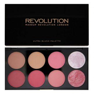 Makeup Revolution Ultra Blush Palette - paleta róży do policzków Sugar and Spice DrogeriaPremium.pl