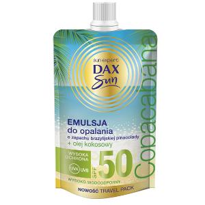 Dax Sun Emulsja do opalania o zapachu brazylijskiej pinacolady DrogeriaPremium.pl