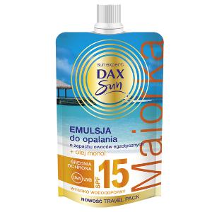 Dax Sun Emulsja do opalania o zapachu owoców egzotycznych DrogeriaPremium.pl