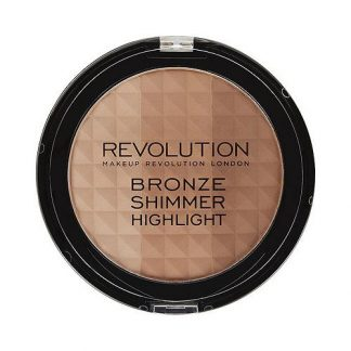 Makeup Revolution Bronze Shimmer Highlight DrogeriaPremium.pl