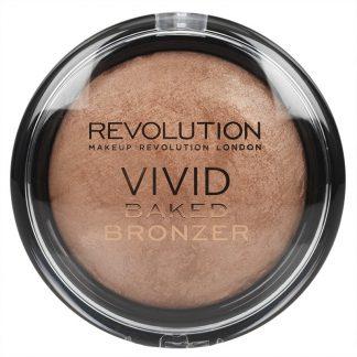 Makeup Revolution Vivid Baked Bronzer - Wypiekany puder brązujący Golden Days DrogeriaPremium.pl