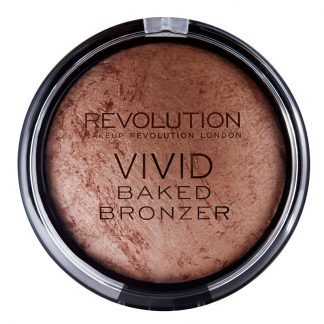 Makeup Revolution Vivid Baked Bronzer - Wypiekany puder brązujący Ready To Go DrogeriaPremium.pl