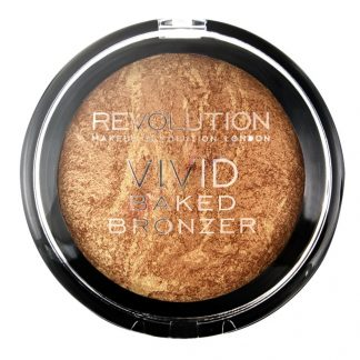 Makeup Revolution Vivid Baked Bronzer - Wypiekany puder brązujący Rock On World DrogeriaPremium.pl