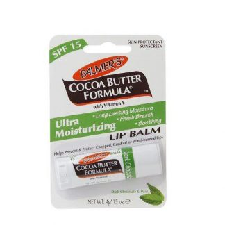 Palmers Cocoa Butter Formula Ultra Moisturizing Lip Balm Dark Chocolate and Mint DrogeriaPremium.pl