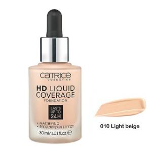 CatriceHD Liquid Coverage - podkład kryjący 010 DrogeriaPremium.pl