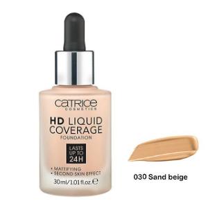 CatriceHD Liquid Coverage - podkład kryjący 030 DrogeriaPremium.pl