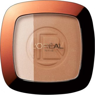 Loreal Glam Bronze Duo - puder brązujący 101 Blonde Harmony DrogeriaPremium.pl