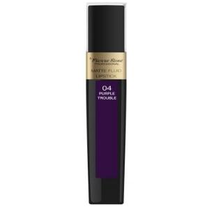 Pierre Rene Matte Fluid Lipstick 04 Purple Trouble DrogeriaPremium.pl