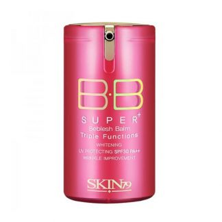 SKIN79 Krem BB Super+ Beblesh Balm BB Triple Functions Pink DrogeriaPremium.pl