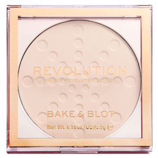 Makeup Revolution Bake and Blot White - puder matujący White 5,5 g