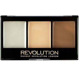 Makeup Revolution Ultra Contour Kit- Lightening Contour 01 3x3.6g- Paleta do konturowania twarzy